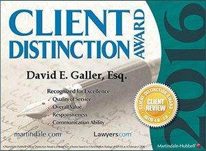 Client Distinction Award